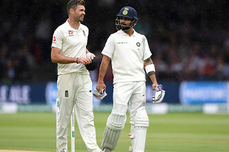 'Kohli will never worry about Johnson but will always have doubts Vs Anderson'