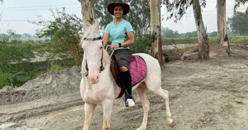Manu Bhaker takes to driving tractors, riding horses and painting