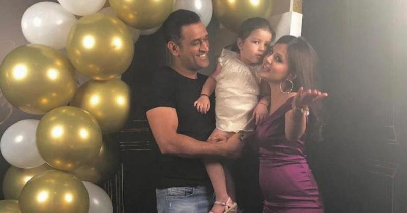 Wife Sakshi gives an amazing post on Dhoni's birthday