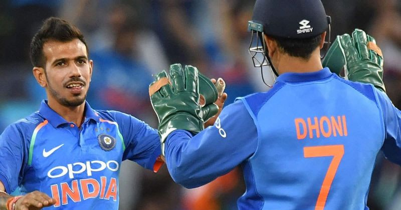 MS Dhoni is a problem solver for Kuldeep and me: Says, Yuzvendra Chahal
