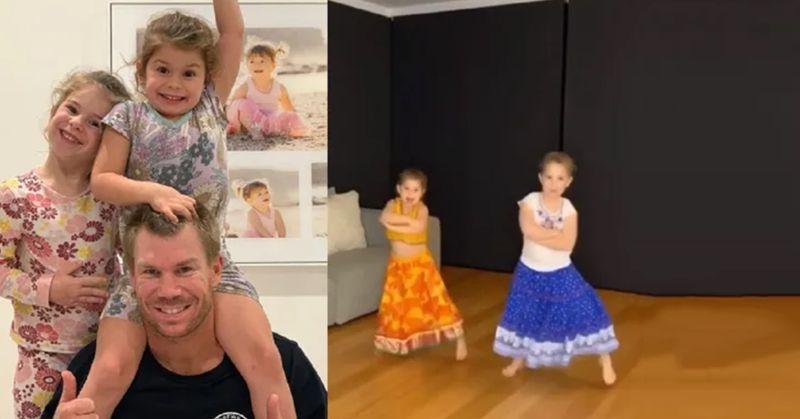 David Warner's daughters dance is sweet as sugar