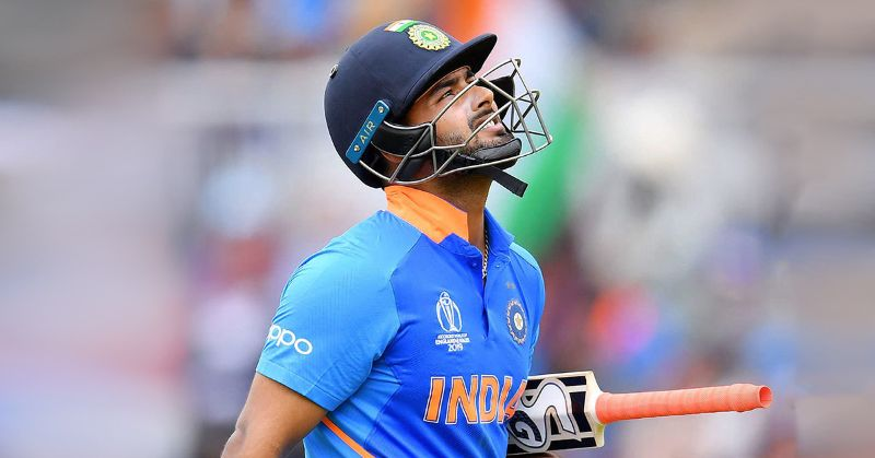 Rishabh Pant not selected for World Cup