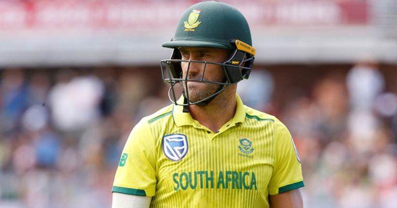 All lives don't matter until black lives matter: Faf Du Plessis