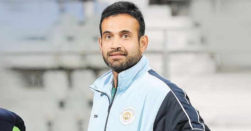 Irfan Pathan speaks about fast bowlers with a voice of control