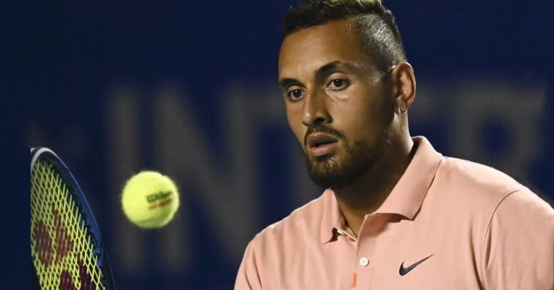 Nick Kyrgios in a cut to cut conversation with Borna Coric