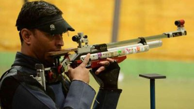Shooter Sanjiv Rajput to put his feet back to the ground